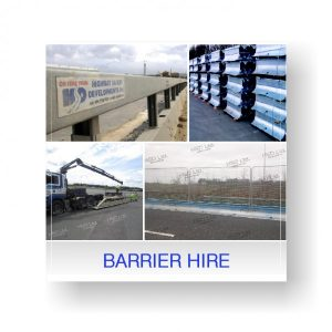 Road Safety Temporary Steel Barrier Hire