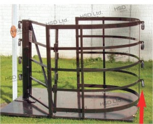 Kissing Gate - Electric Fence or Wire Fittings