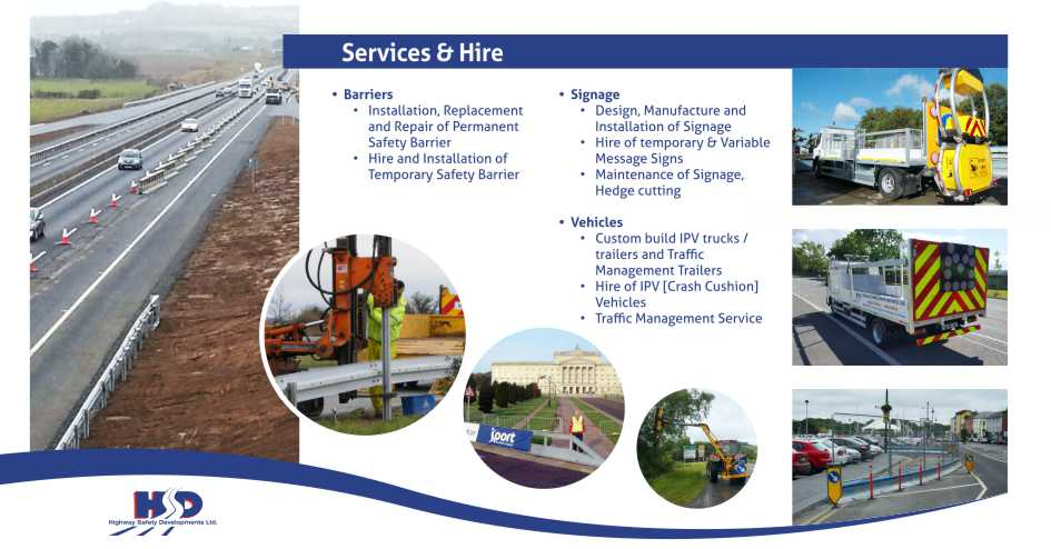 Highway Safety Developments Ltd Services and Hire