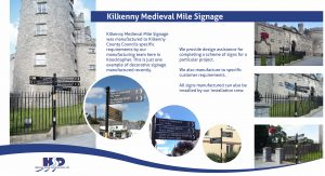 Irelands' Medieval Mile Signs