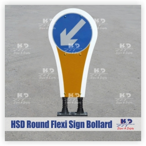 Island Bollards - HSD: Signs and Safety HSD: Signs and Safety