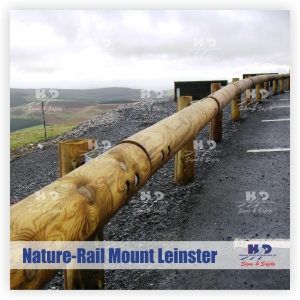 HSD Ltd: Nature-Rail timber safety barrier: a combination of robust