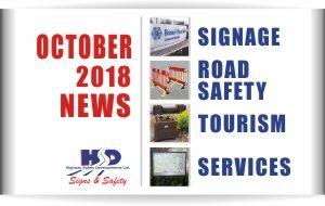 October 2018 News Highway Safety Developments Ltd